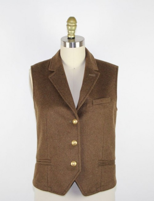 J.CREW womens wool vest sample