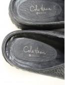 COLE HAAN COLE HAAN Series black leather waterproof slide on shoes