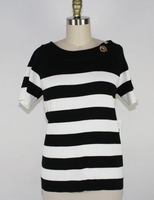 RALPH LAUREN womens shor sleeves sweater