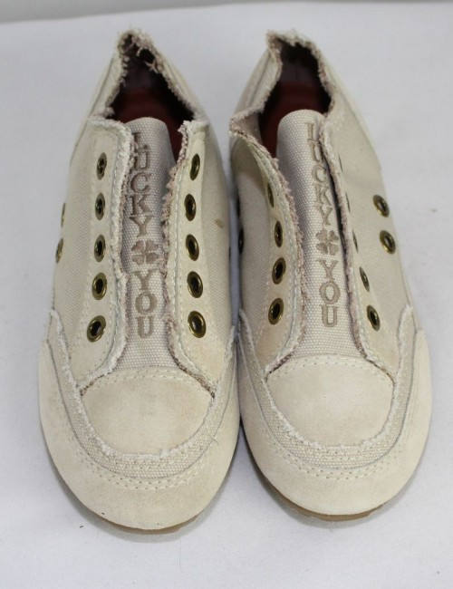 LUCKY BRAND womens canvas sneakers