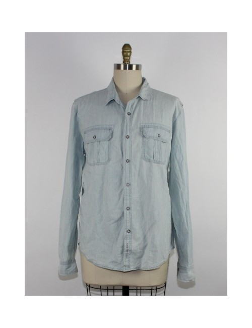 CALVIN KLEIN Button Down Denim Shirt