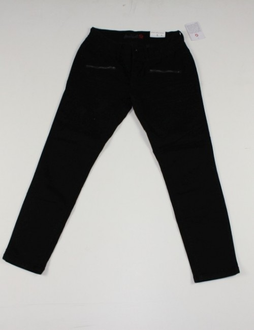 GUESS zip pockets ankle skinny jeans