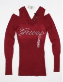 GUESS womens open shoulder sweater (S)
