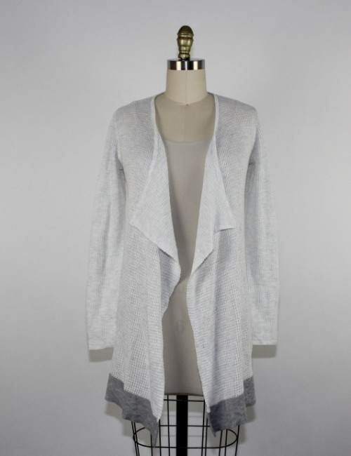 DAISY FUENTES cardigan sweater top (S)