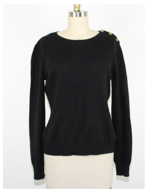 RALPH LAUREN womens cashmere sweater (L)