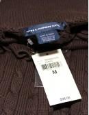 RALPH LAUREN SPORT short sleeve cotton sweater (M)