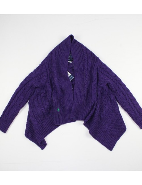 RALPH LAUREN girls poncho sweater (8-10/M)