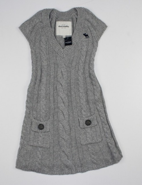 ABERCROMBIE girls warm dress (M)
