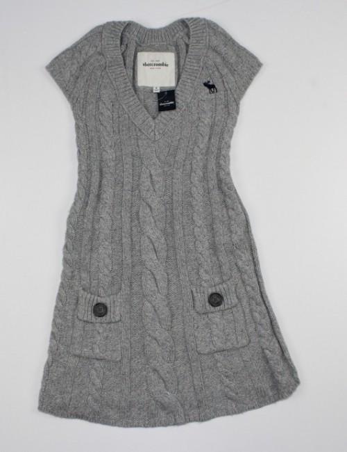 ABERCROMBIE girls warm dress (M)