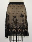 MAX STUDIO lace skirt (L)