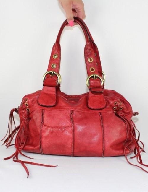 VERA PELLE women leather tote ba