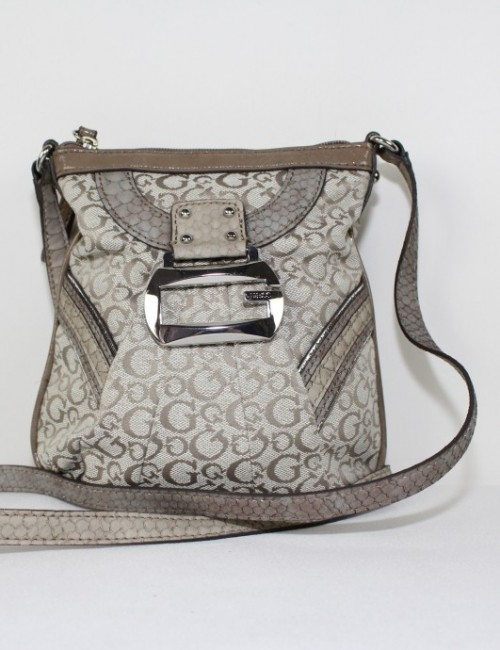 GUESS womens signature cross body bag