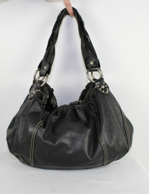 LUCKY BRAND padded leather shoulder bag