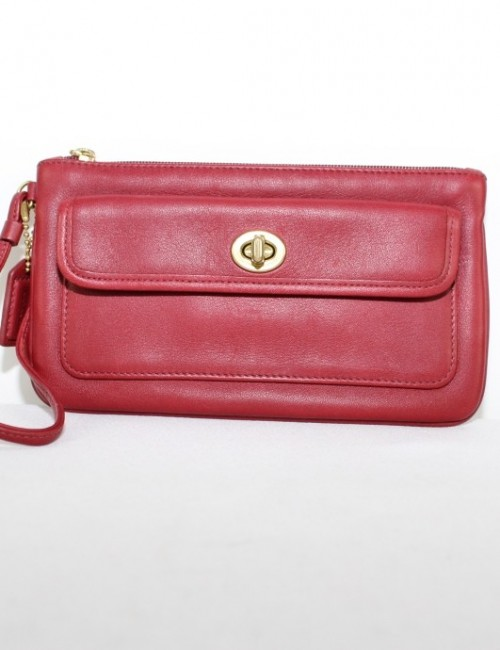 COACH womens leather purse