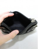 COACH womens signature canvas small purse