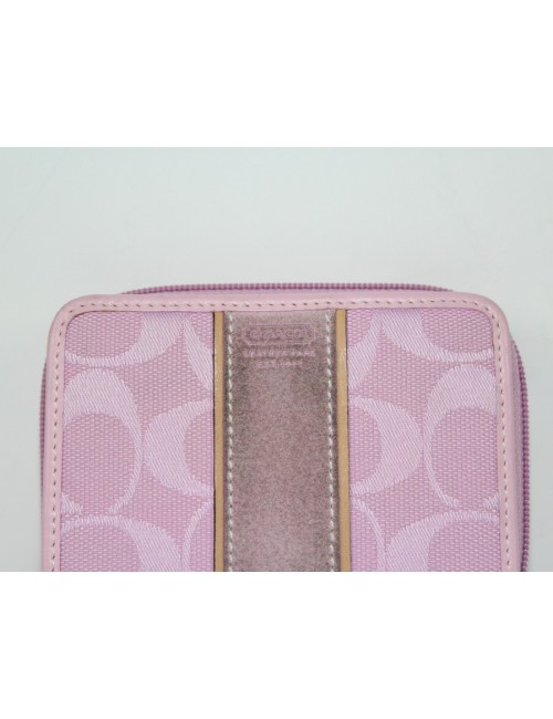 COACH womens signature biford wallet