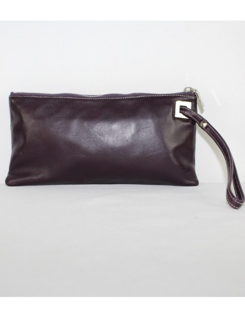 PERLINA women leather evening bag