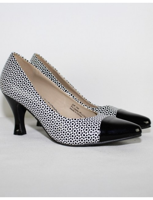 BELLINI womens dots print classic pumps
