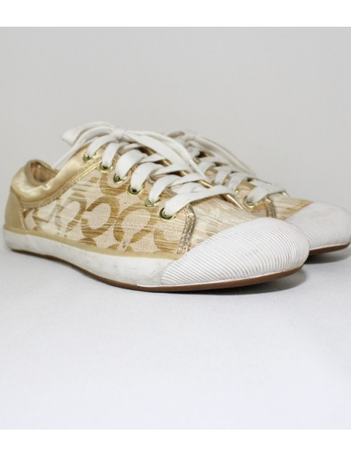 COACH zorra itka optic art womens sneakers