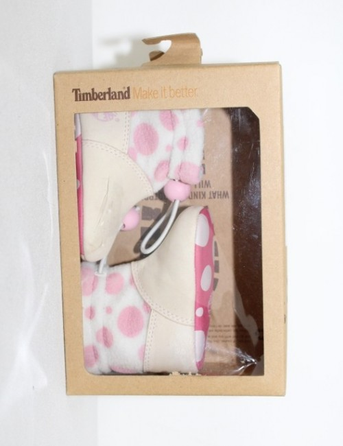 TIMBERLAND convence crib bootie hat set