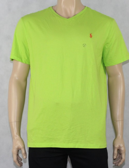 RALPH LAUREN v-neck t-shirt (XL)