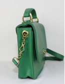J.Crew Green Leather Woman Handbag