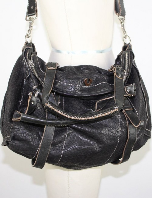 TRUE RELIGION TRUE RELIGION Leyla Bag leather- black color