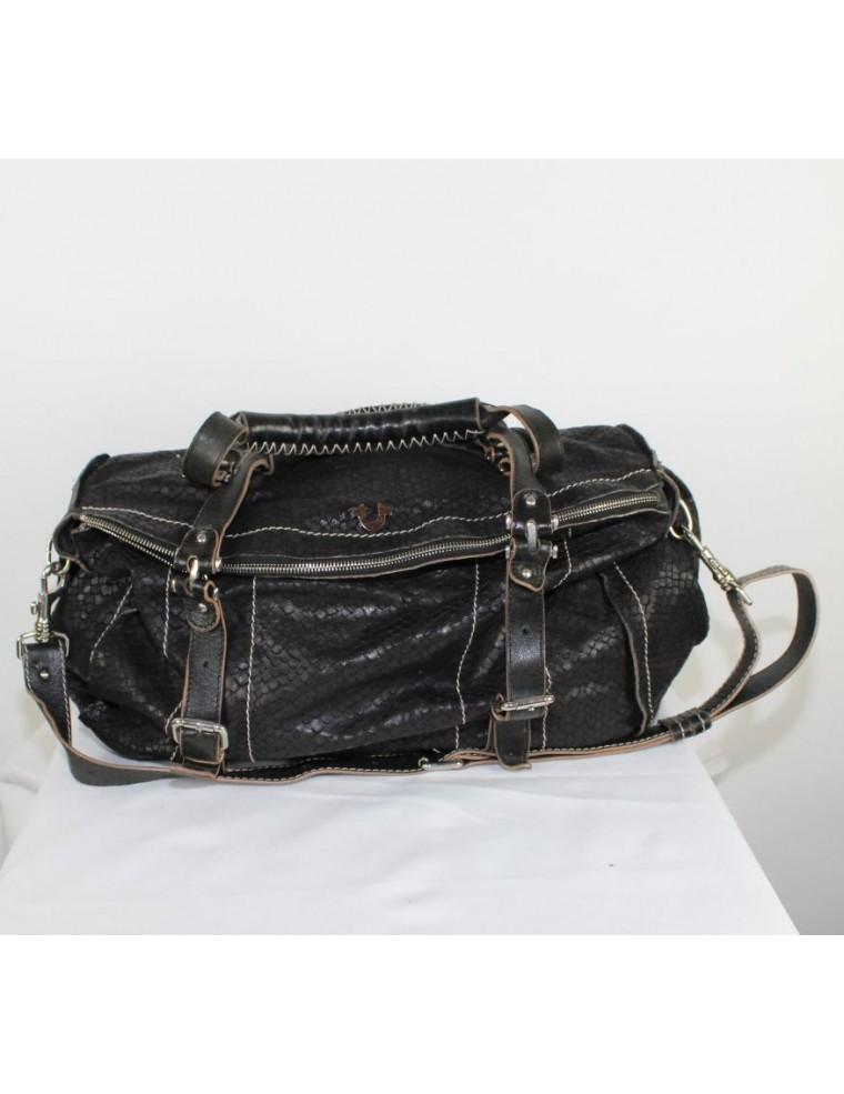0070edaa45 TRUE RELIGION TRUE RELIGION Leyla Bag leather- black color - vintaya.com
