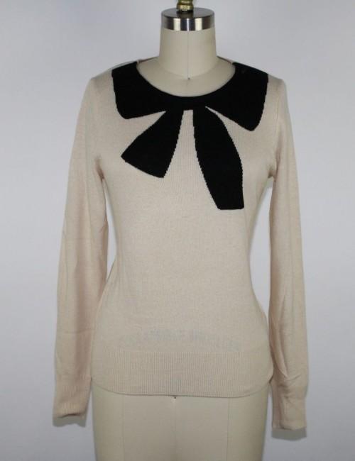 J.CREW womens Giant Bow Sweater (S) NWT