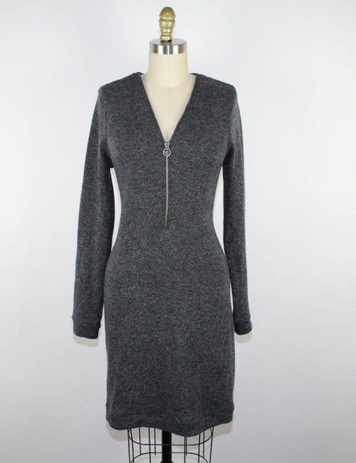 MICHAEL KORS zipper dress (M)