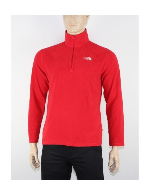 THE NORTH FACE (AJGW) TKA 100 GLACIER 1/4 zip fleece (M)