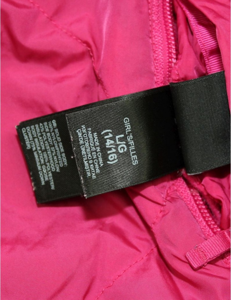 af353b1894 ... THE NORTH FACE AUUD girls reversible Moondoggy down jacket (L) ...