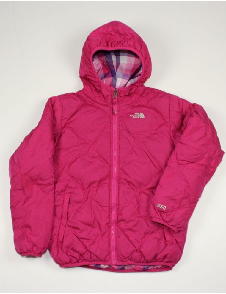 fdc03b290 THE NORTH FACE AUUD girls reversible Moondoggy down jacket (L ...