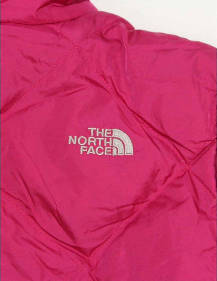 b5ade3d4df ... THE NORTH FACE AUUD girls reversible Moondoggy down jacket (L)