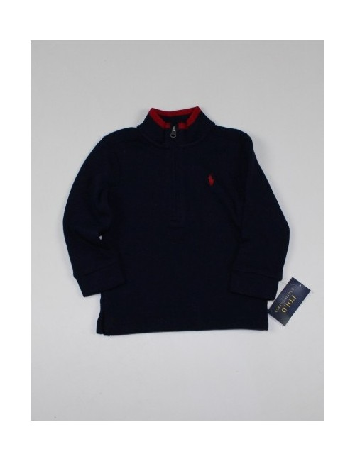 RALPH LAUREN boys sweater 1/4 zip (18M)