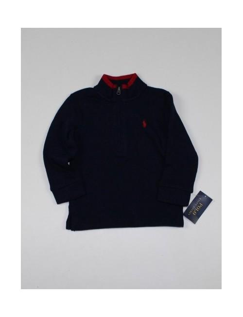 RALPH LAUREN boys sweater 1/4 zip (18M)