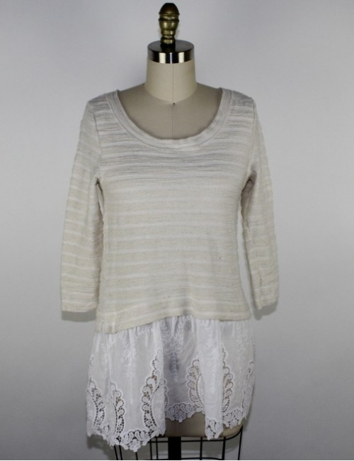 SUNDAY IN BROOKLYN ANTHROPOLOGIE womens top (S)