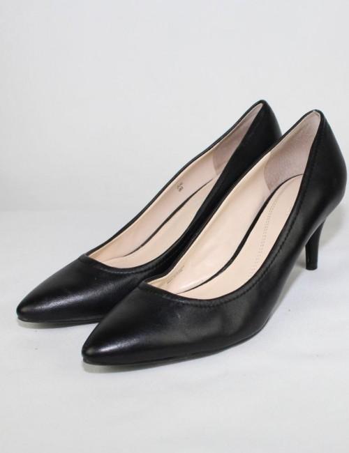 ELLIE TAHARI ZOE leather pumps (8)
