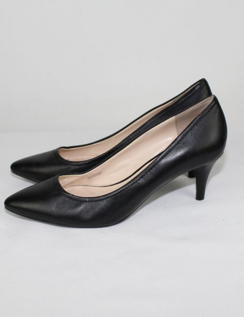 ELLIE TAHARI ZOE leather pumps (8)