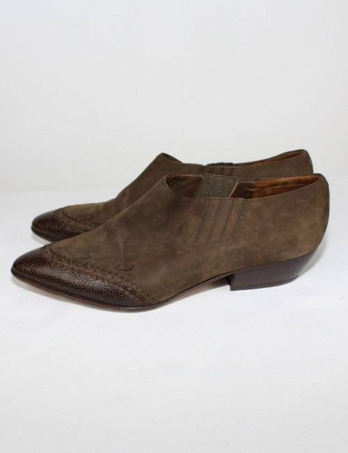VIA SPIGA leather ankle boots (7.5) western style