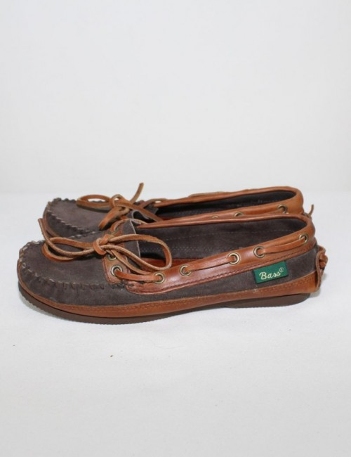 BASS leather moccasins (6)