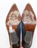 DONALD J PLINER leather JESSI Mule (7.5)
