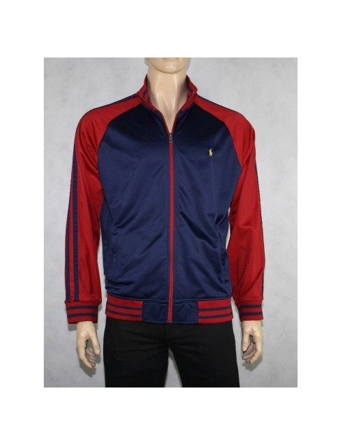 RALPH LAUREN mens zip front track jacket