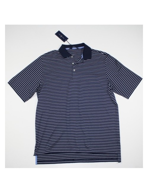 RALPH LAUREN GOLF mens classic striped polo shirt