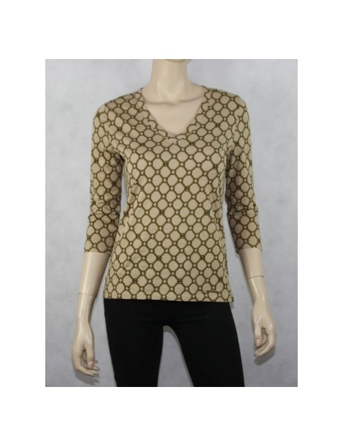 MICHAEL KORS womens signature top (S)