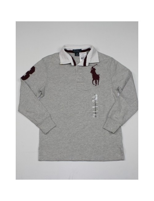 RALPH LAUREN boys long sleeve polo shirt