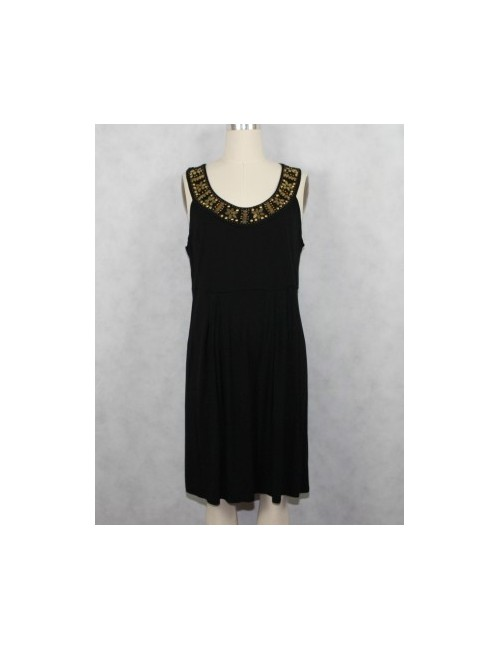 MICHAEL KORS dress with bronze beads (XL)