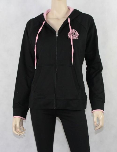 RALPH LAUREN womens sweatshirt black label (L)