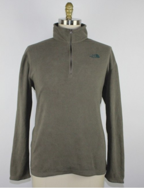THE NORTH FACE (AJGW) TKA 100 GLACIER 1/4 zip fleece (L)