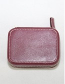 COACH Pill Box Travel Case with 3 Bottles/Vials Pewter